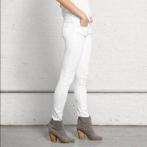 Rag and Bone white skinny jeans